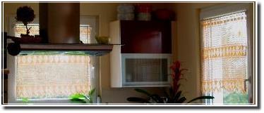 Küchenvorhänge