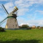 die Windmühle von der anderen Seite
