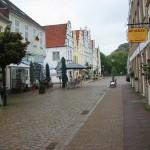 Friedrichstadt im Regen