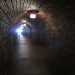 Tunnel zum Aufzug