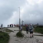 auf dem Weg zum Gipfel des Kehlstein