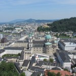 Blick von der Festung Hohen Salzburg
