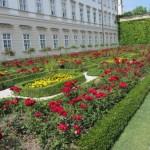 Rosengarten vor Schloss Mirabell