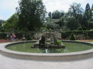 geflügeltes Pferd im Mirabellgarten