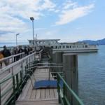 Bootsanleger auf der Fraueninsel