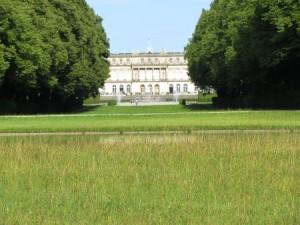 Blick vom Grande Canale zum Schloss