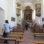 die Kirche von innen