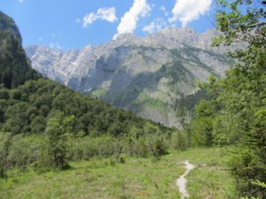 Bergpanorama (Watzmann?)