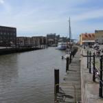 im Husumer Hafen
